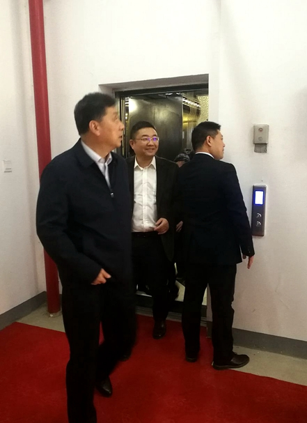 集团公司党委书记、董事长刘光辉到必威体育直播登录厂考察