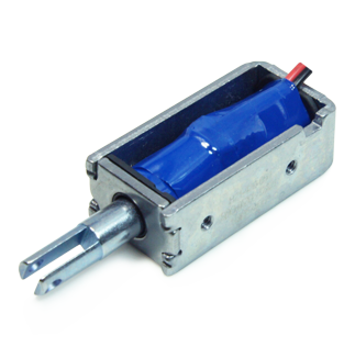 电磁铁SDO-0530L系列 取卡器用小型直动推拉电磁铁螺线管