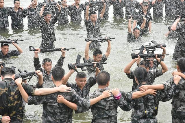 野外拓展之军事拓展训练心得
