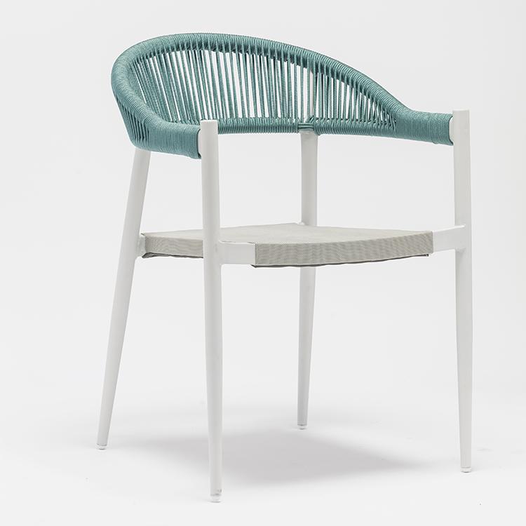 Rope dining chair/Обеденный стул из веревки