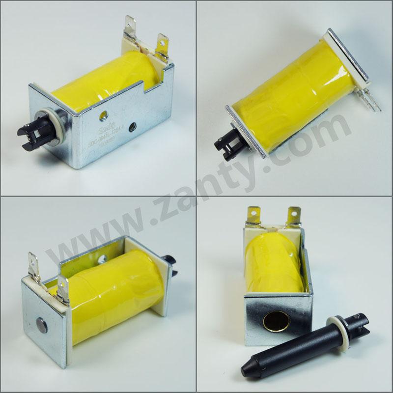 SDC-0844L系列电磁铁 自动贩卖机小型框架推拉电磁铁