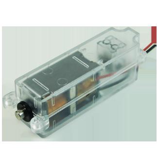 ZDC-001双保持电子锁 带微动开关信号反馈直流充电枪电子锁模块