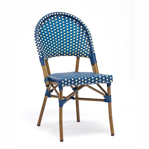 French style rattan bistro chair / Французский стиль ротанг бистро стул