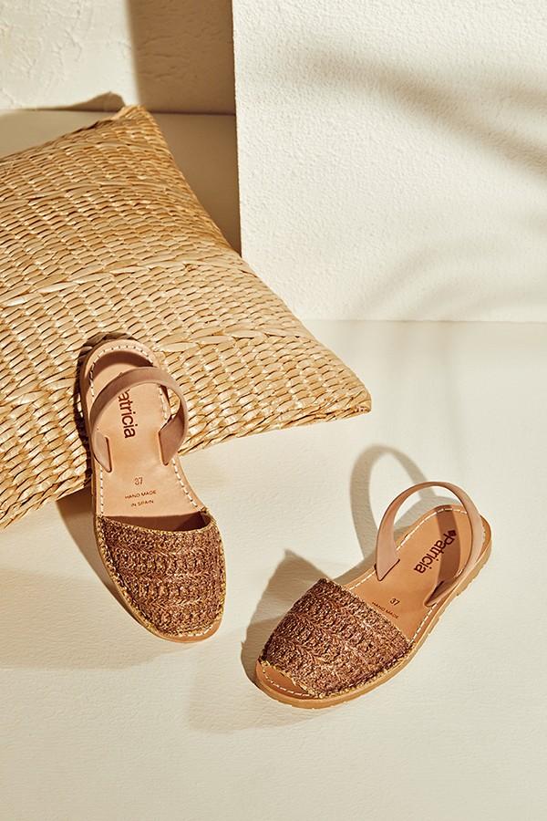 天然酒椰纤维低跟西班牙岛鞋