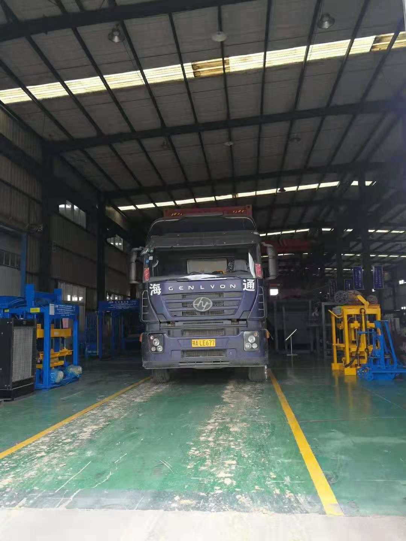 QTY4-25发往蒙古国