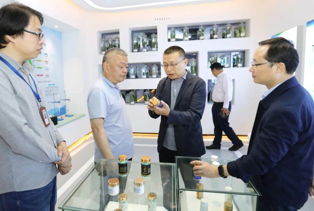 启迪控股副董事长彭顷砡与江西省委常委、常务副省长殷美根会谈