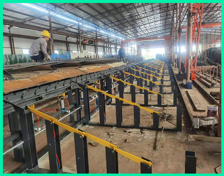 飞宏4套智能钢筋加工设备助力大型钢厂快速分拣