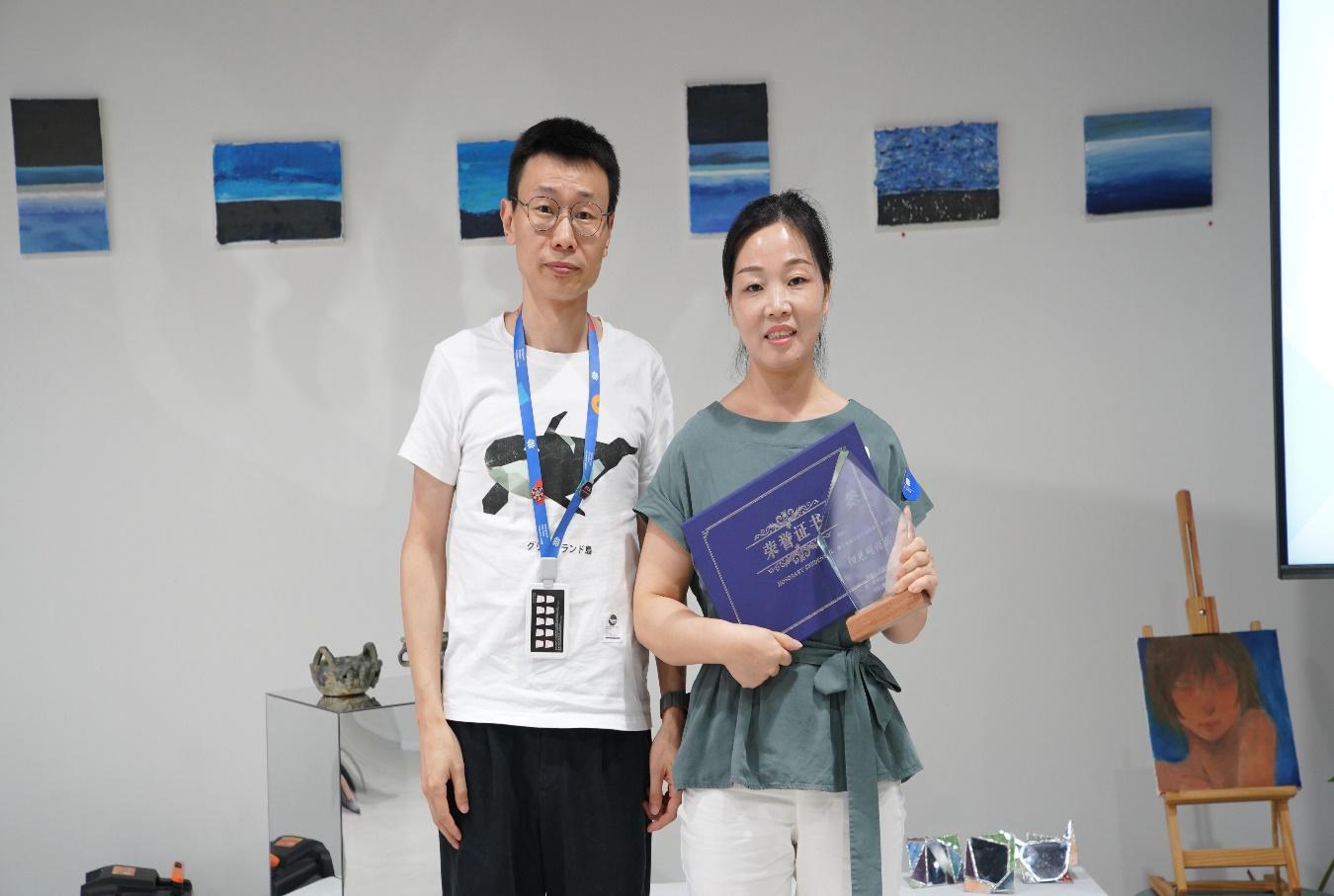 """大涵文化于2021年·杭州云谷学校年度供应商评选中获得""""A级供应商""""称号"""