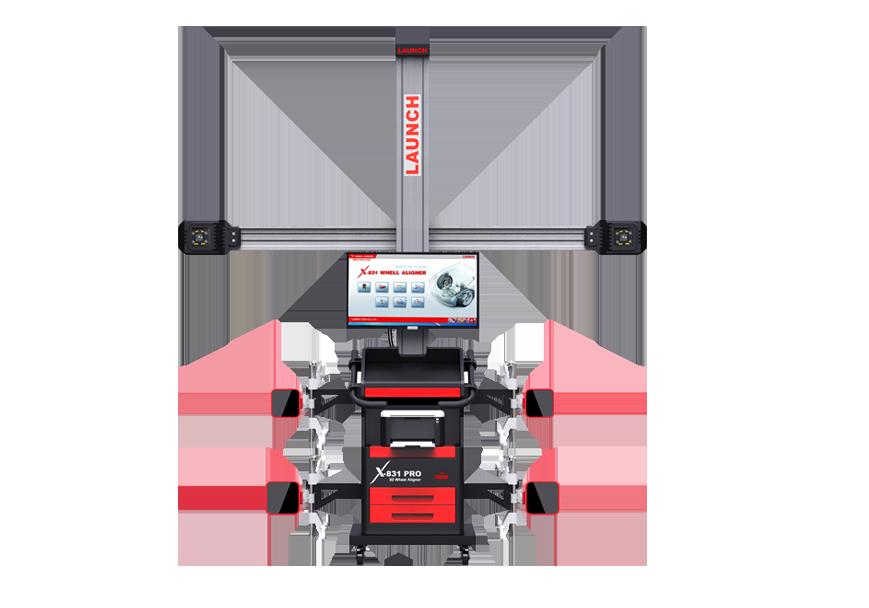 X-831 PRO超高清3D四轮定位仪