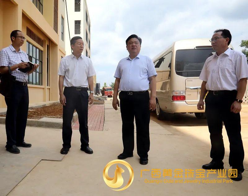 市委书记林冠到平桂区调研项目建设、产业发展等工作