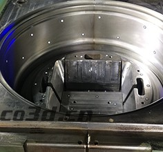 Three-dimensional inspection of wheel mold