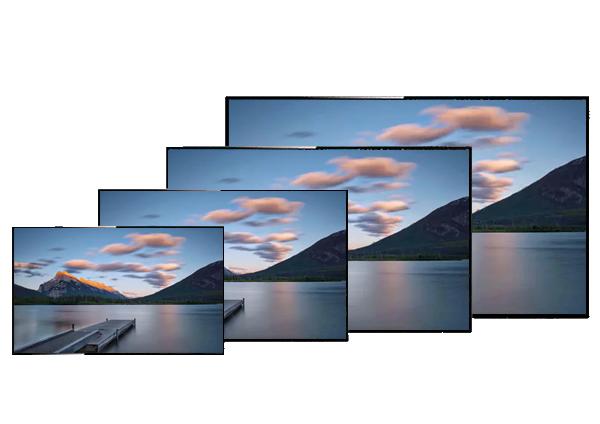 耐诺 98寸液晶监视器 铝合金边框监控显示器    型号: NJ-98
