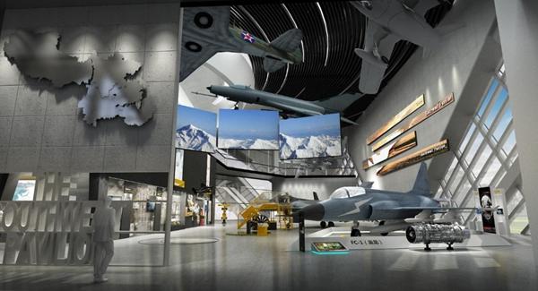 鹰誉科技战机亮相2021湖南通用航空博览会 点燃航空梦