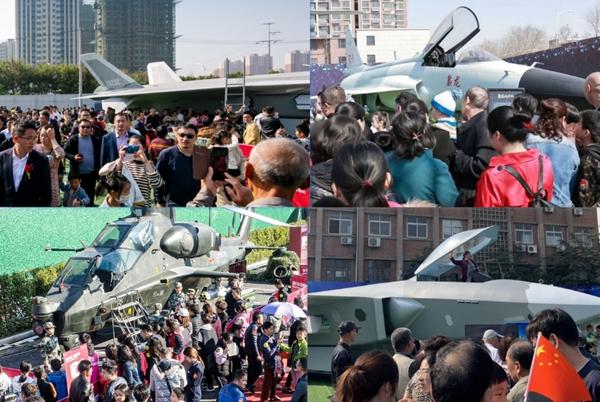 鷹譽科技戰機亮相2021湖南通用航空博覽會 點燃航空夢