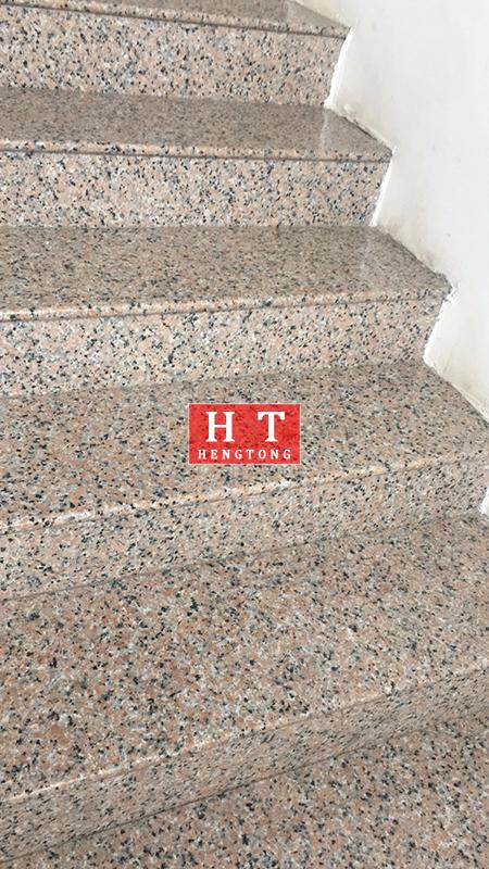 枫叶红浅红楼梯板