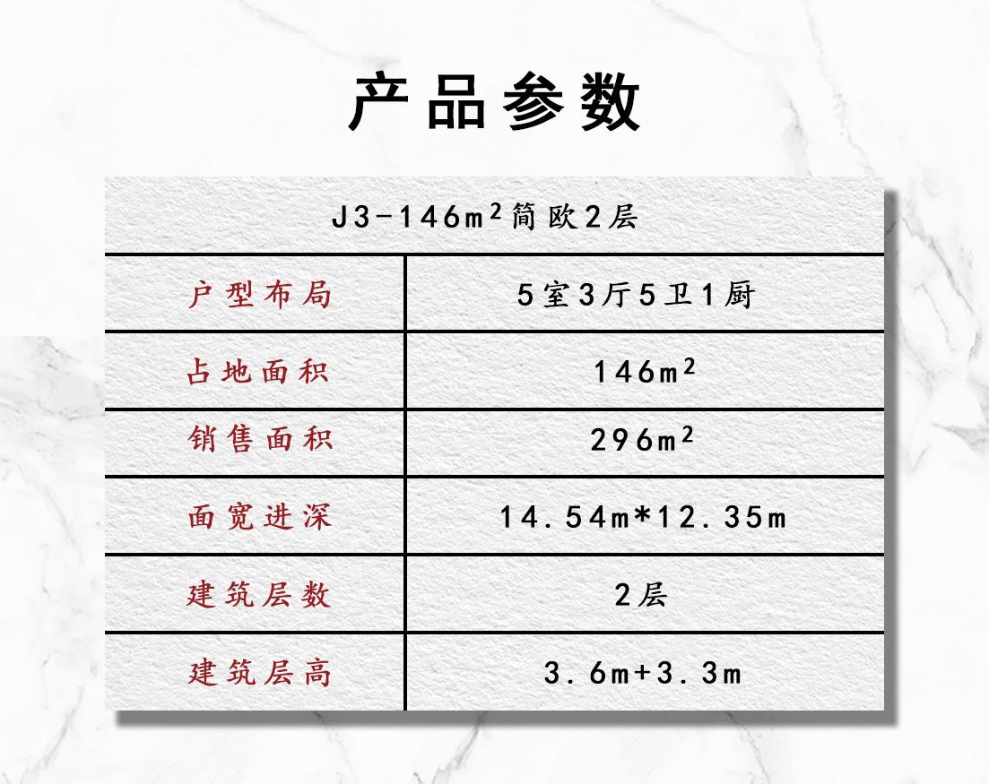 J3 146平2层