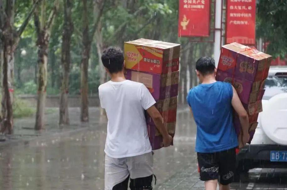 風雨無情人有情,河南高校一定行!