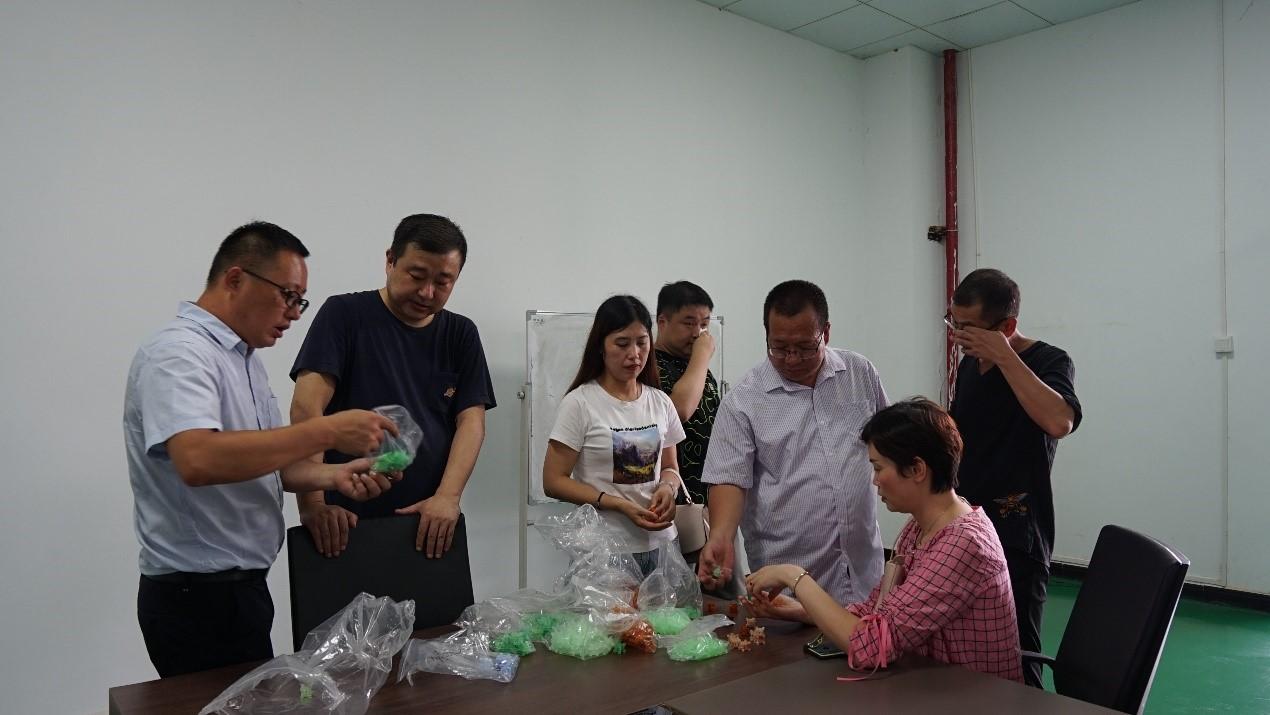 重庆大足区中医院领导莅临beplay官方网站地址调研洽谈