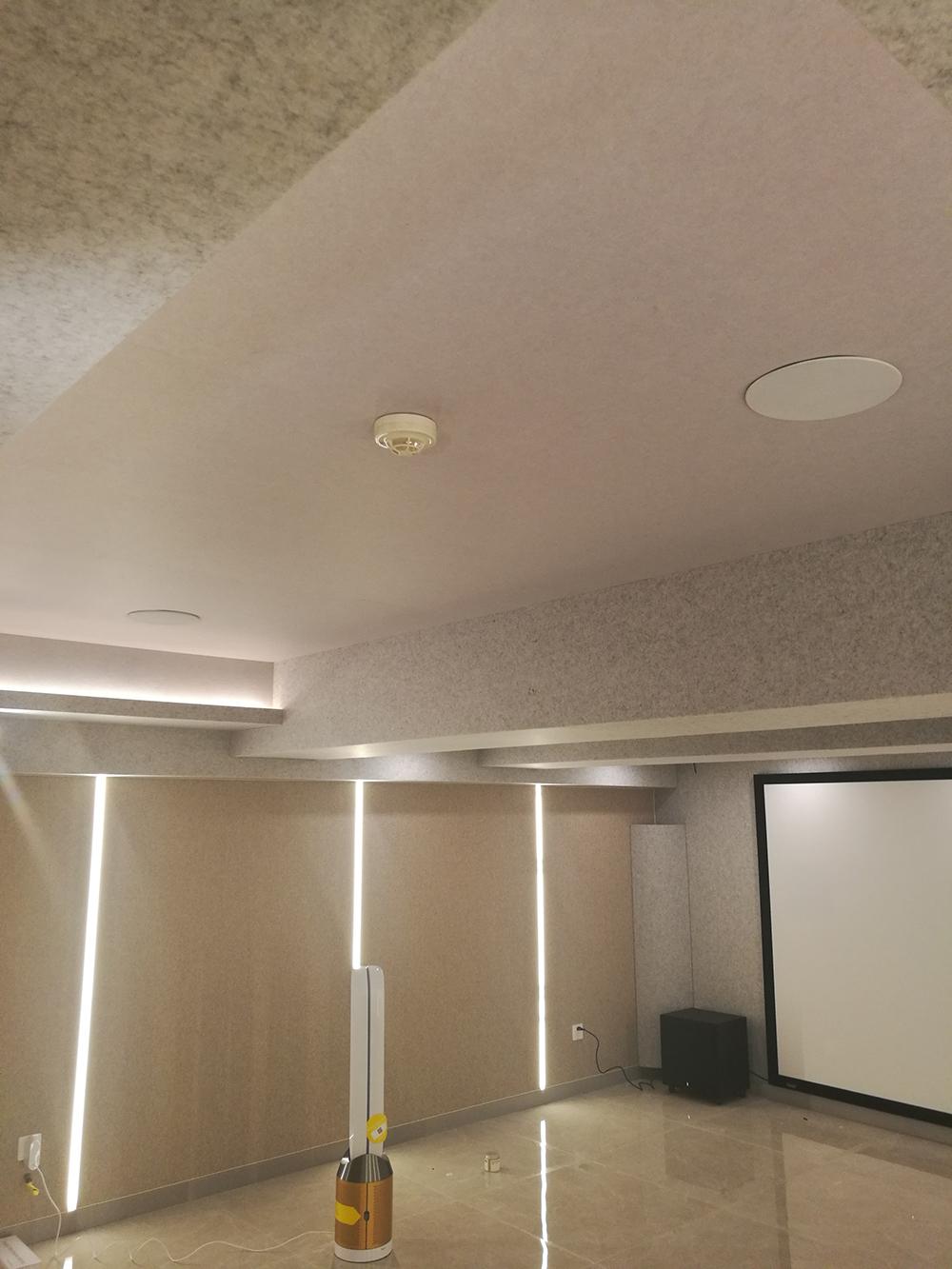 北京通州千章墅地下影音室项目完工