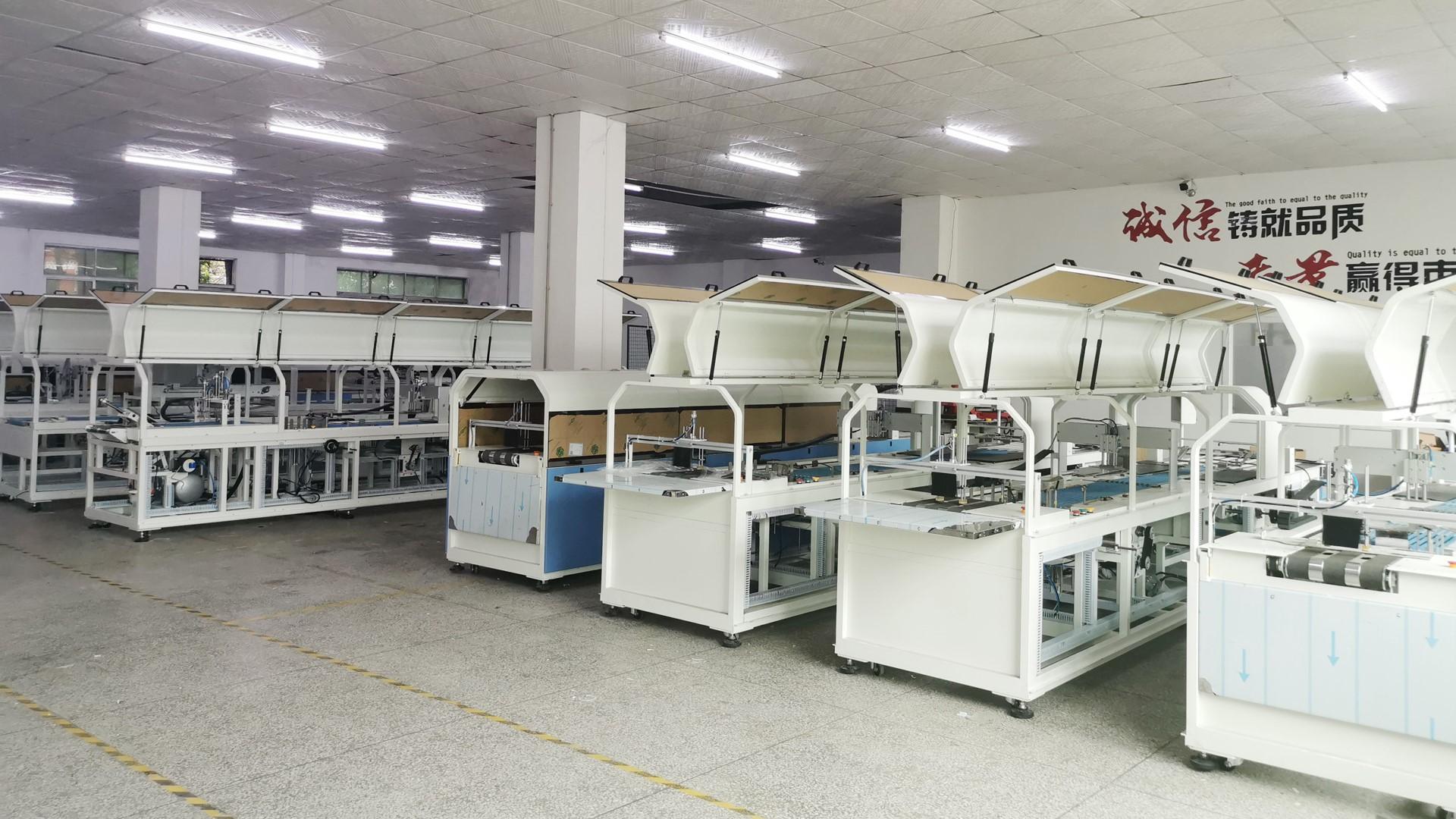 为什么选择深圳领创的自动包装机?