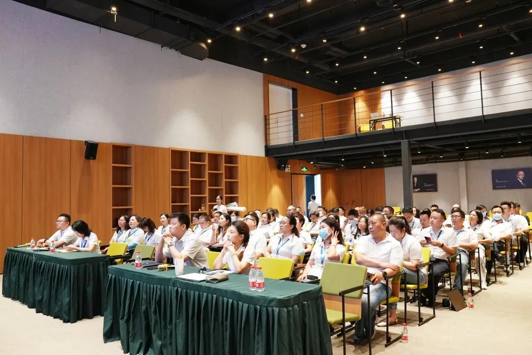海格物流2021年上半年度工作总结会议圆满召开