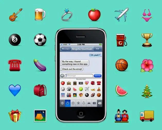 """""""男妈妈""""还是""""啤酒肚""""?来看看emoji的前世今生"""