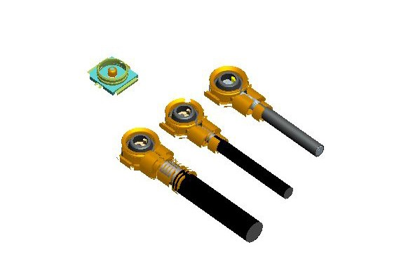 Component height 1.2 H (compatible Ipex)-7.020
