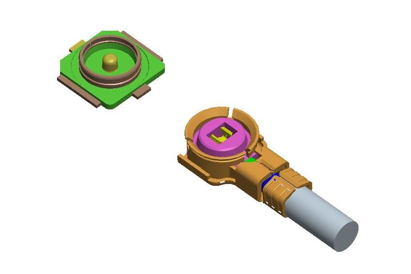 RF3.5代同轴线(1.13mm线径,H=1.45mm)-7.025A*