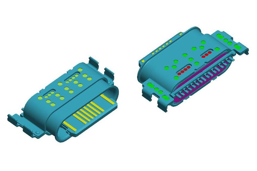 16 Pin Type-C REC CONN-3.118