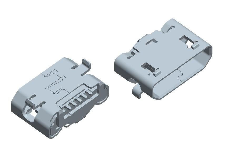 Micro usb 5Pin conn-3.061A1