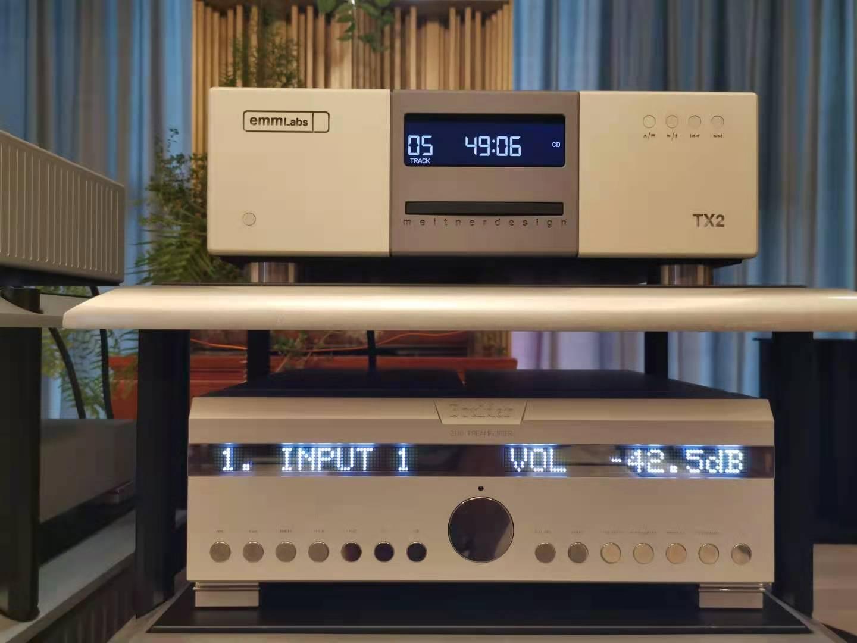 贵州客户的选择:艾格斯顿 安德拉签名版+EMMLAB碟机+宝达功放
