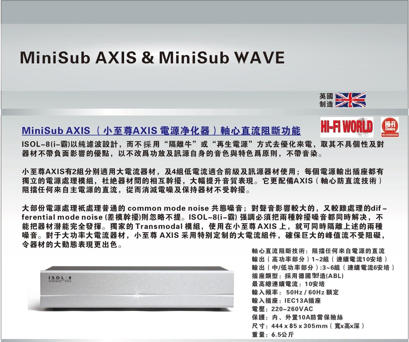 MiniSub AXIS