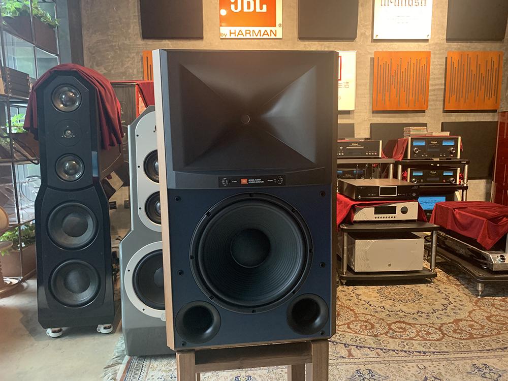 JBL StudioMonitor经典4349 发烧监听音箱