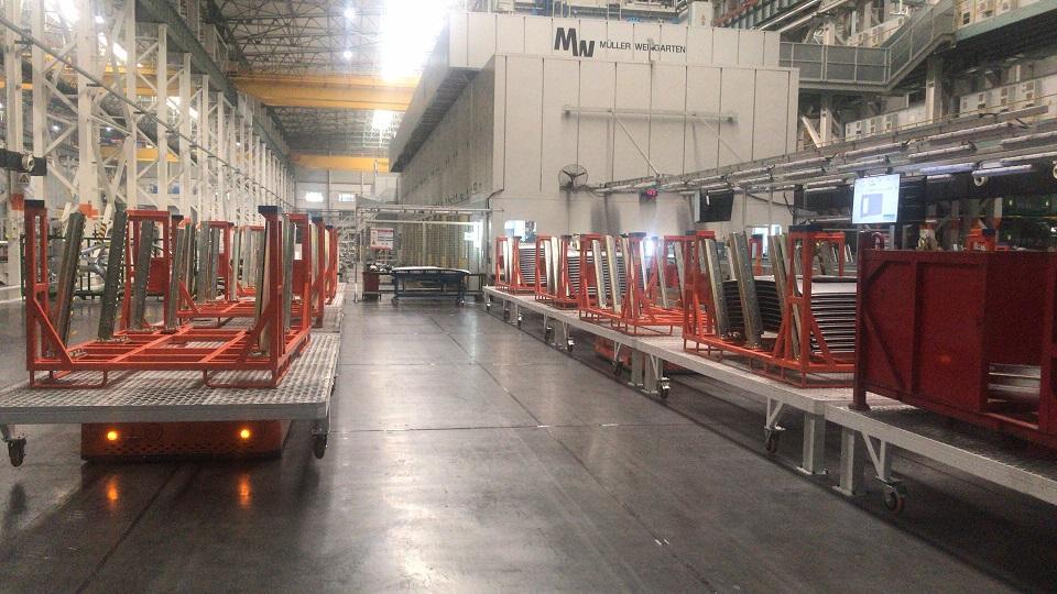 助力某汽车厂实现RFID容器管理