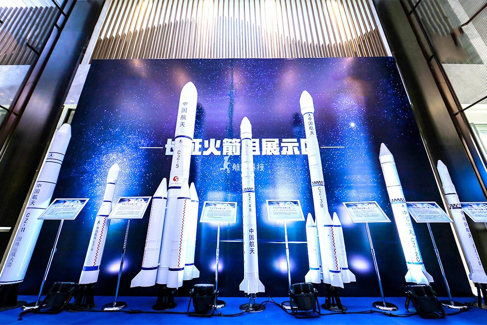 长征火箭组模型