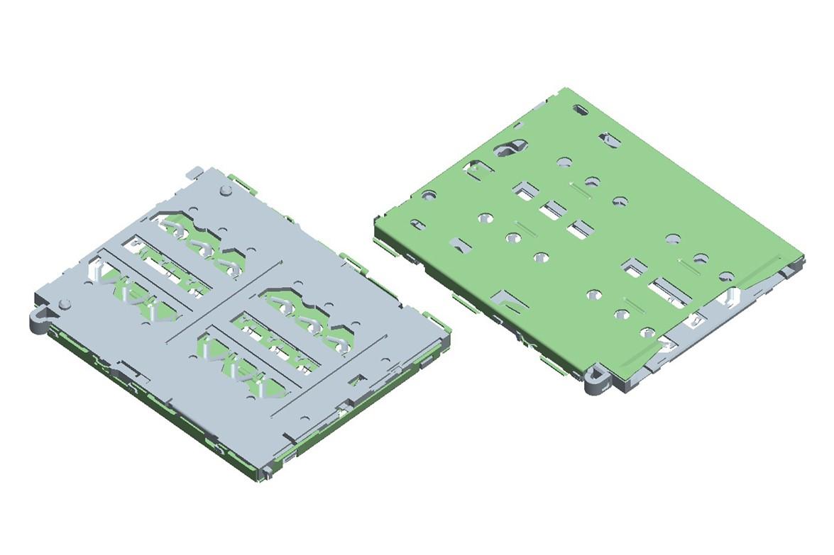 Double NANO CARD Socket-1.063