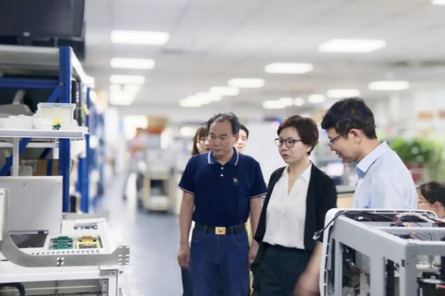 【聚焦天隆】陕西省科技厅兰壮丽副厅长一行莅临天隆调研指导