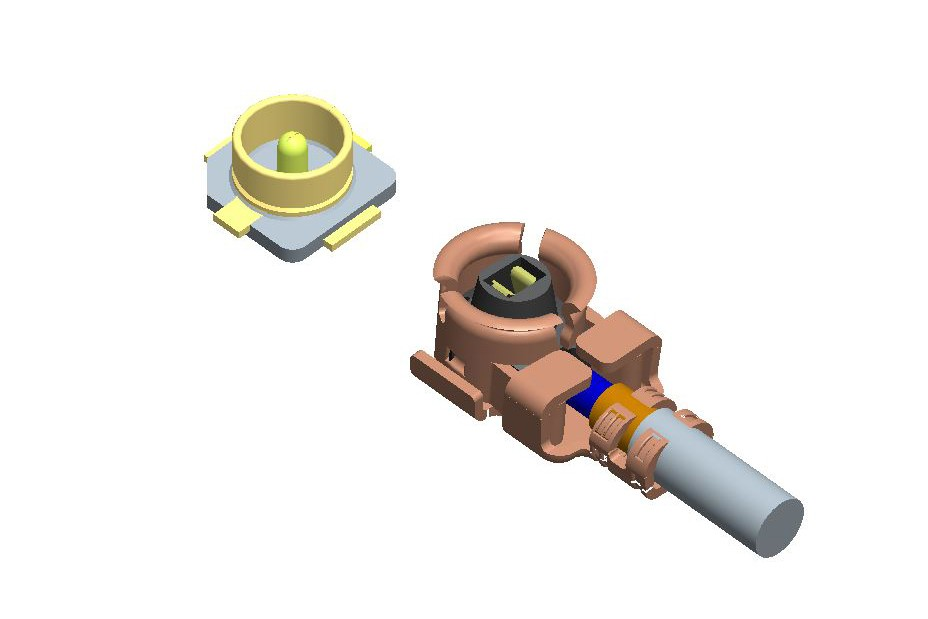 Component height 2.5H (compatible Ipex)-7.005