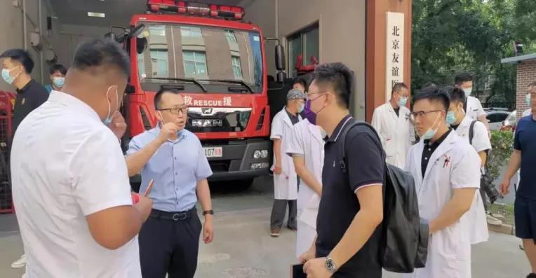 辰安科技助力北京市推进医院和大型商业综合体应急体系建设工作