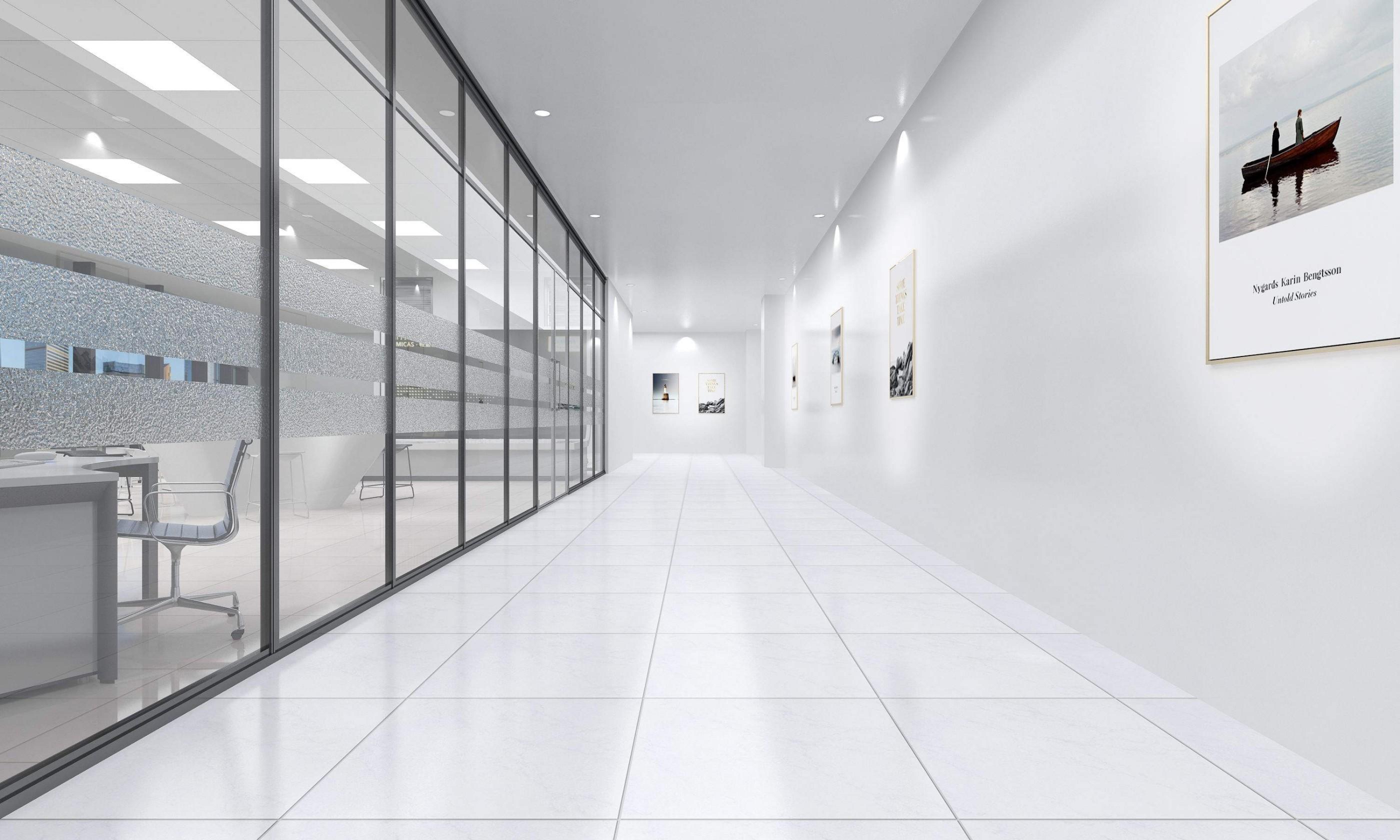 文化长廊——百年历程长廊