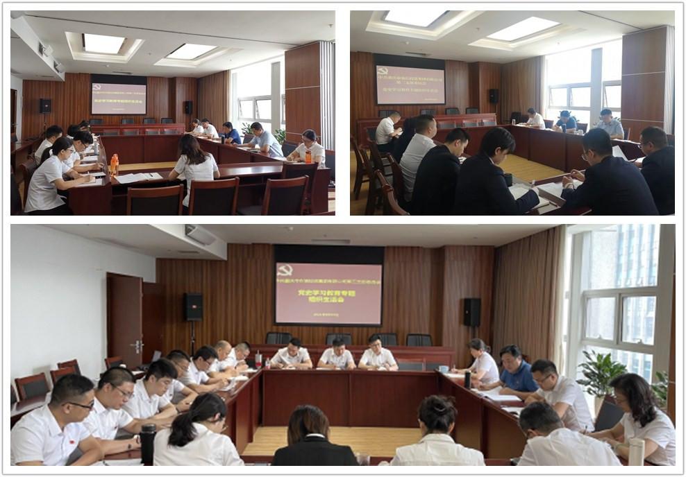 农信集团组织召开党史学习教育专题组织生活会