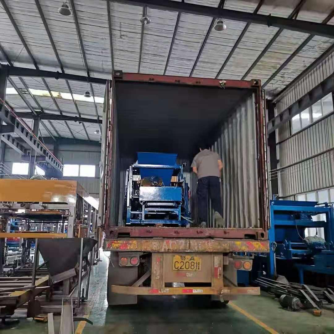 QTY4-25发货赞比亚