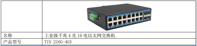 全千兆网管型工业以太网交换机