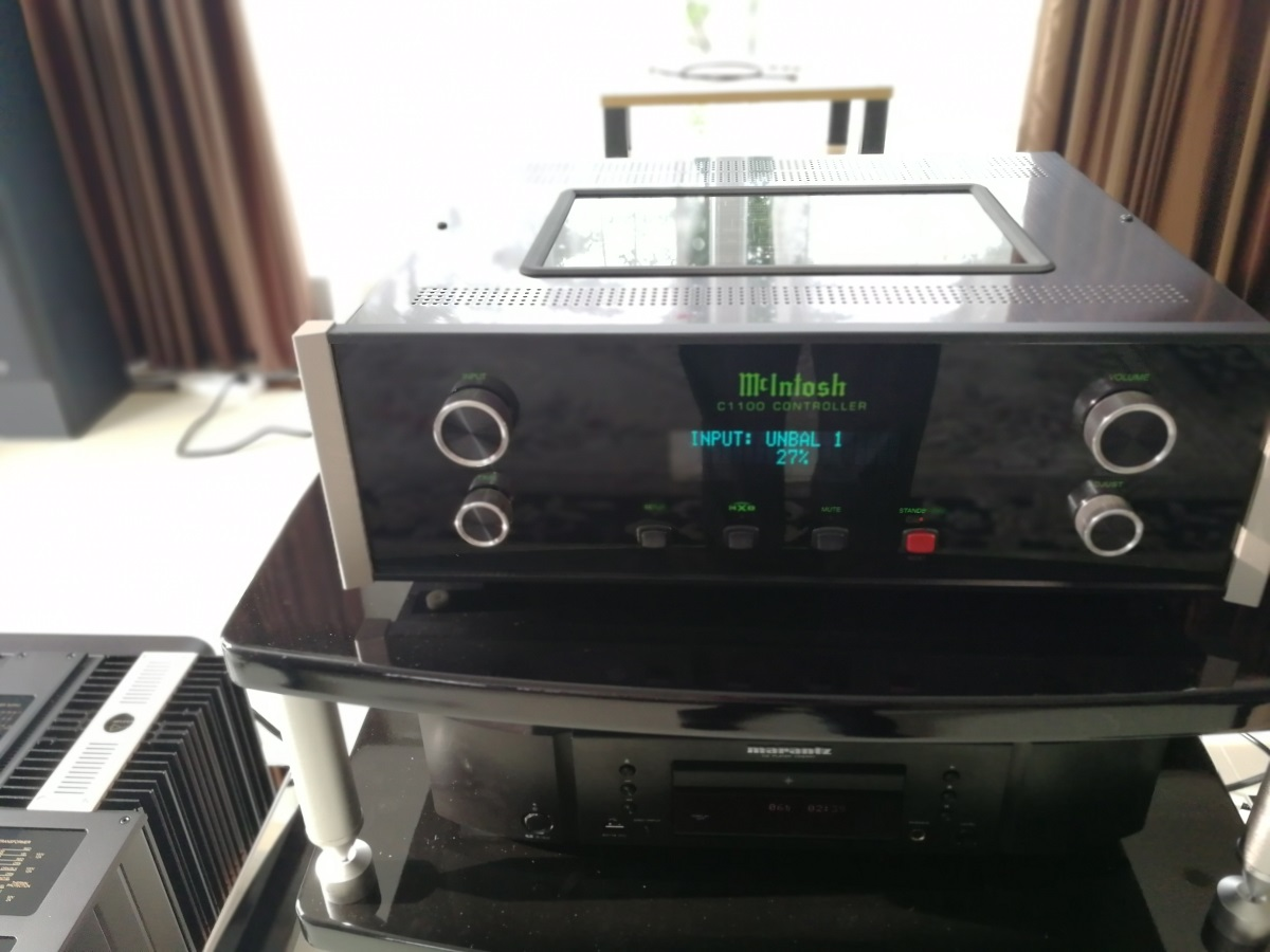 北京客户选择麦景图顶级功放驱动丹拿信心60音箱