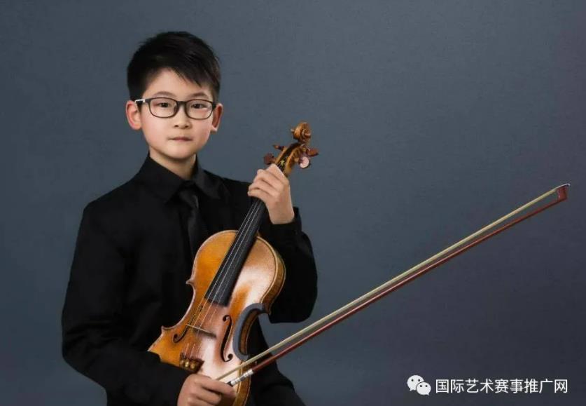 祝贺上海音乐学院附小小提琴学生刘天佑获得2021年比利时伊萨伊国际音乐比赛第二名