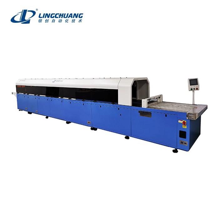 高端款服装多功能折叠包装机(自动贴标)UQLC-8800C型