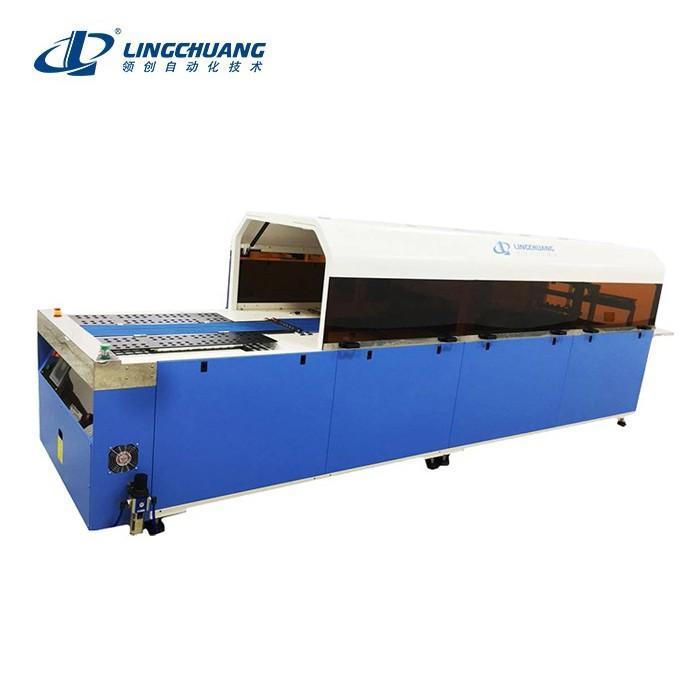 厚薄服装通用款自动折叠包装机(无吊牌要求)PMTD-4350型