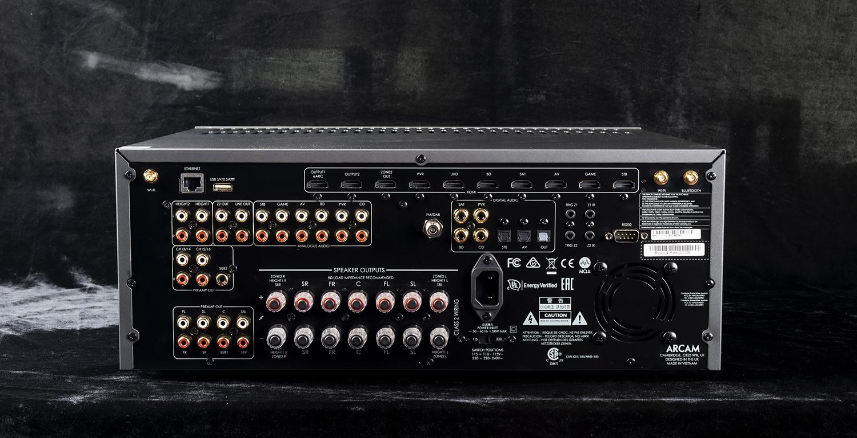 ARCAM雅俊AVR20强劲的驱动力和Dirac Live加持