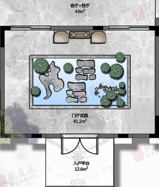 湖北三层农村自建别墅图纸设计,享受定制别墅花园好生活