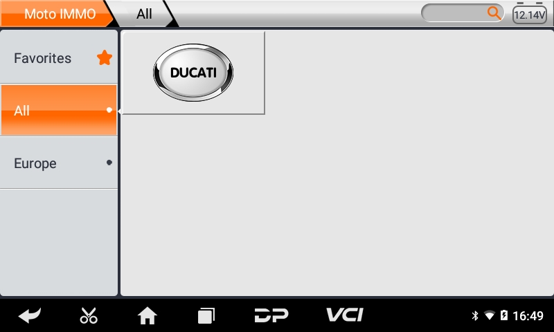 iScan Ducati